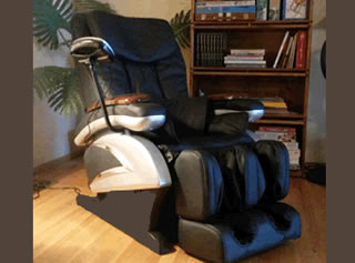 Massage chair.